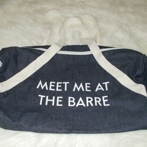Handbags - Meet Me At The Barre Gym Bag